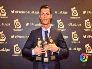 ronaldo hattrick awards
