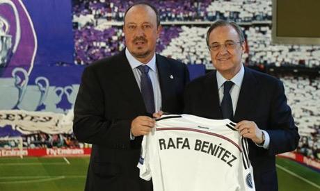 florentino perez and rafa benitez